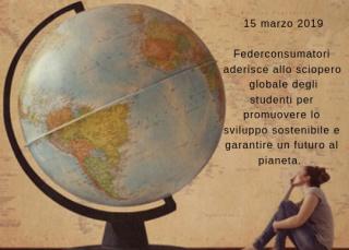 fridays for future, federconsumatori, cambiamenti climatici, sciopero clima