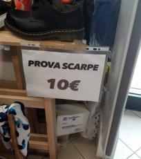 Kiki Sport Mirandola, prova scarpe 10 euro, e-commerce, amazon