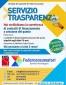 servizio trasparenza locandina ER