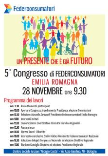V congresso Federconsumatori Emilia Romagna